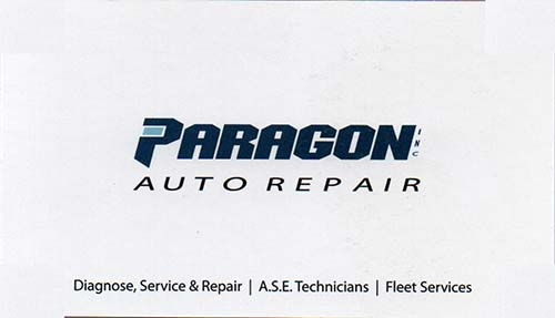 Customer Business Cards Paragon Auto Repair 1 Mark S Locksmith Lockouts Cars 40 60 Homes 50 70 503 734 8550