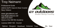 GT Outdoors Guided Fishing and Hunting 1